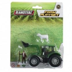 Set constructie - tractor verde