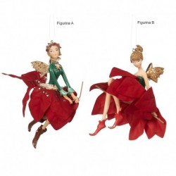 Zana decorativa costumatie textila 11 cm