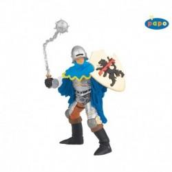 Figurina Papo - cavaler cu ghioaga (albastru)