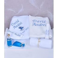 Trusou botez personalizat Strumfi