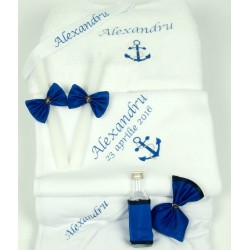 Trusou botez personalizat marinar
