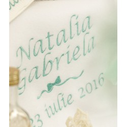 Trusou botez personalizat Natalie