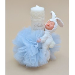 Lumanare botez personalizata bebelus