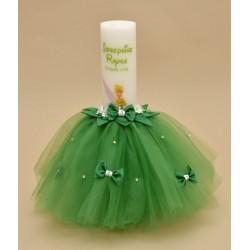 Lumanare botez Tinker Bell