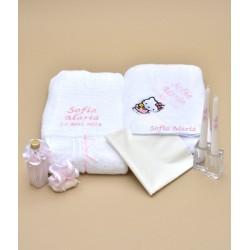 Trusou botez personalizat Hello Kitty