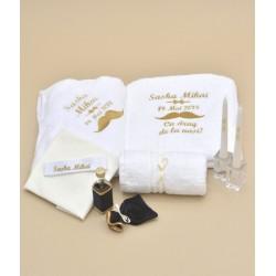 Trusou botez personalizat Little Gentleman